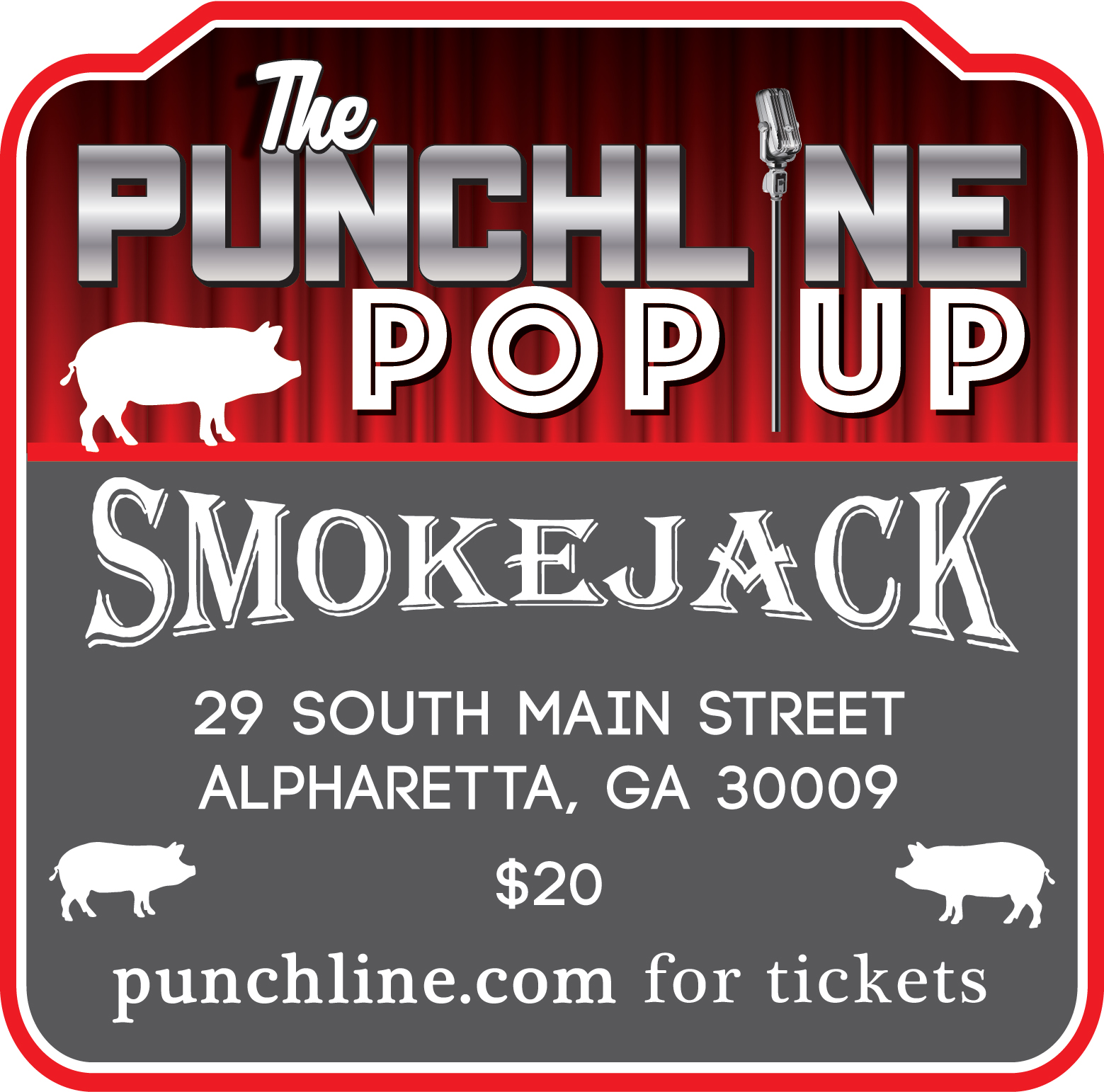 The Punchline At Smokejack BBQ