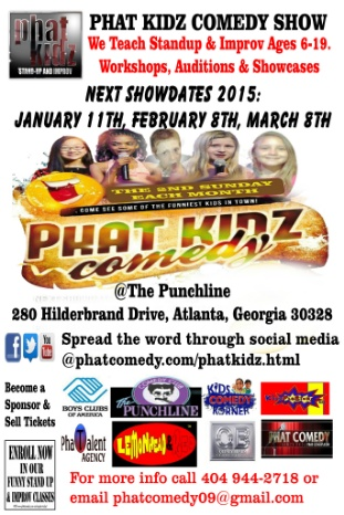PHAT KIDZ COMEDY SHOW Adult Ticket