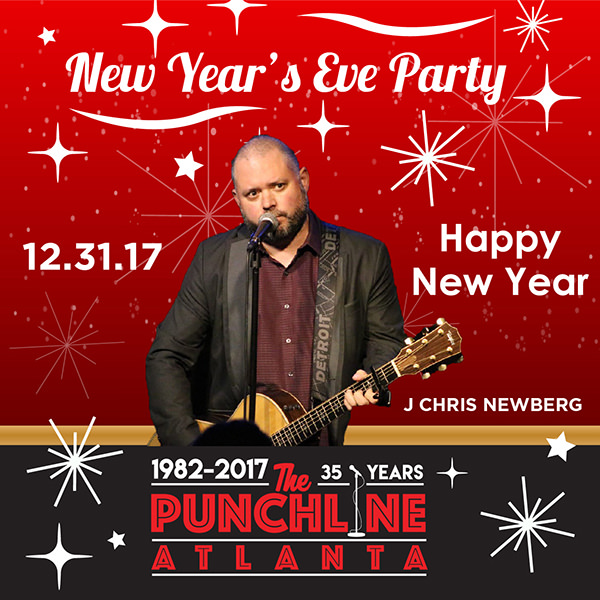 2018 New Year's Eve: J. Chris Newberg From America's Got Talent